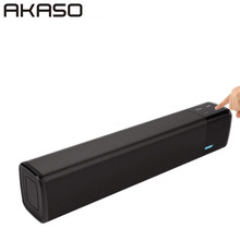 AKASO SL1000S Portable 20w Wireless Bluetooth Speaker Soundbar Super Bass Stereo Loudspeaker with Touch NFC Speakers(China)