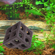 New arrival Aquarium Fish Tank Ornament Decor Ceramic Hiding Cave Fish Shrimp Crab Shelter Breeding For Aquarium Fish Tank New