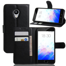 Luxury Phone Fundas Case For Meizu M3 Mini / Meizu M3s Mini / Blue Charm 3 3S 5.0'' Flip Cover Wallet Leather Bags Skin Stand