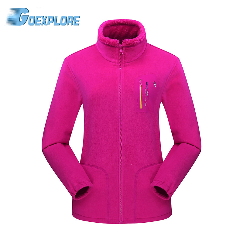 Tectop Fleece Jacket  Female Trekking Breathable Hiking Thermal Outdoor Sport Camping Coat Climbing Jacket for Women<br>