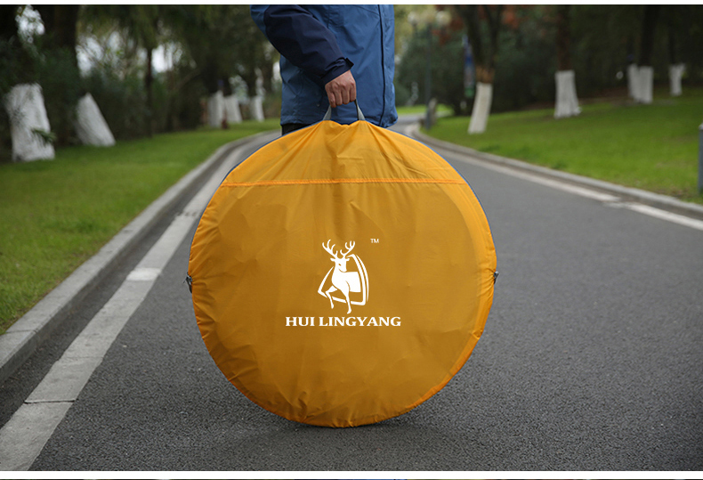 HYL camping pop up tent large 3-4 person windproof (21)