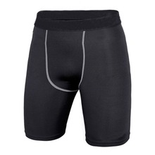 Hot Koop 4 Kleuren Mannen Compressie Sport Shorts Athletic Training Skin Tight Base Layer Shorts(China)