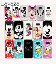 Lavaza 29O Minnie cartoon Hard Case for Samsung Galaxy S6 S7 Edge S8 Plus S2 S3 S4 S5 Mini Cover(China)