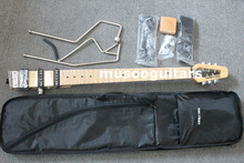 MINISTAR BRAND CASTAR-II TRAVEL ELECTRIC GUITAR WITH CARRYING BAG(China)