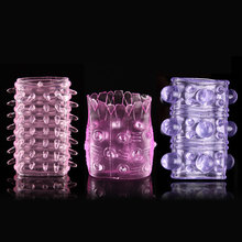 3pcs Sexual Cock Rings Kits Vibrating Penis Sex Toys Fun Ring Cockring Men's Sex Adult Aid for Couple