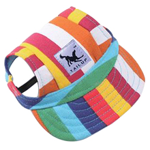Practical Boutique TAILUP Canvas Summer Small Pet Dog Cat Baseball Visor Hat Puppy Cap Outdoor Sunbonnet S(China)