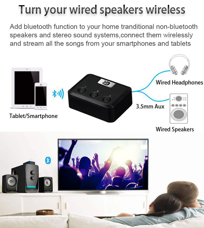 Ayin MR235 Bluetooth Receiver for Speakers