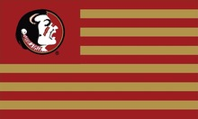 USA Sport NCAA  Florida State Seminoles Flag 3ft*5ft  Basketball Club Team Flag 100D Polyester NCAA Flags Banners