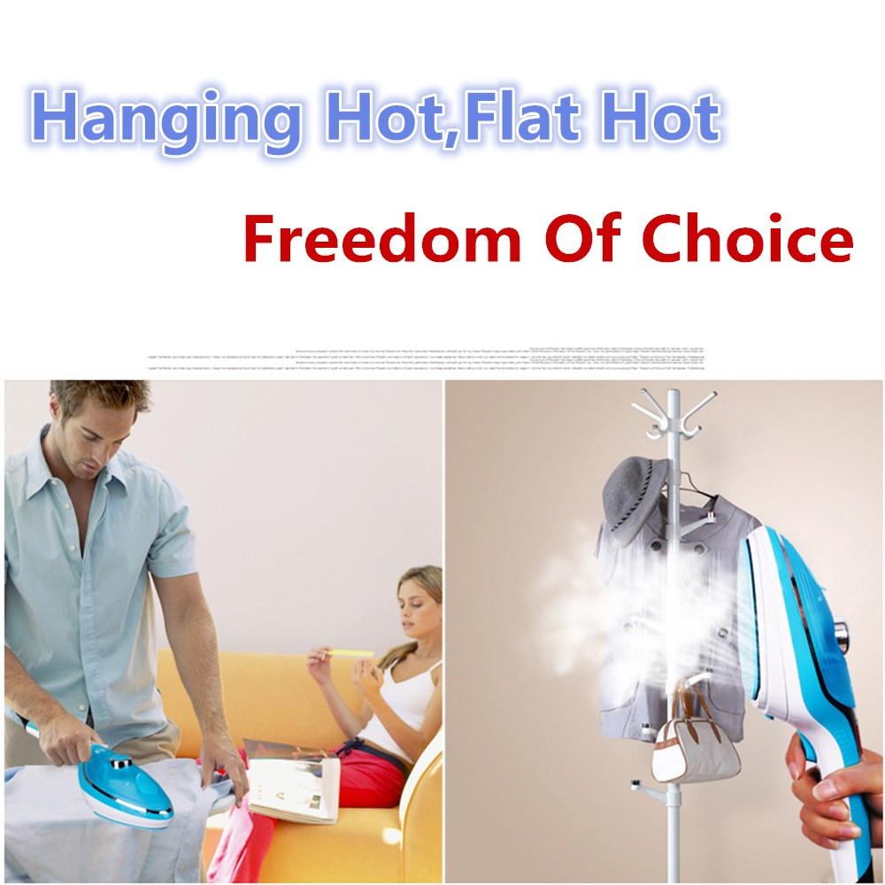 Portable Garment Steamer for Clothes /Travel Iron/Handheld Fabric Steamer, Household Steamer, Steam Humidifier Handy Vapor Steam