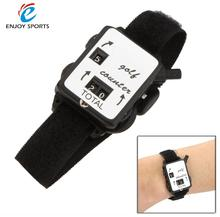 Golf Club Stroke Score Keeper Count Watch Golf Stroke Counter Putt Shot Counter with Wristband Band Golf Training Aids