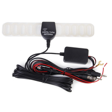 Car Digital Amplifier Antenna Aerial for Mobile Car DVD TV/FM Radio Booster(China)