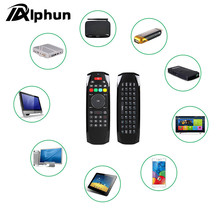Alphun New Portable 2.4G G7 Fly Air Wireless Mouse Keyboard Remote Control for Android Smart TV Box HTPC Projector Mini PC