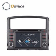 Android 6.0 Quad/Octa 8 Core CPU 2GB RAM 16GB Flash Car DVD For MITSUBISHI PAJERO V97 V93 2006-2015 Radio GPS Stereo 4G SIM LTE