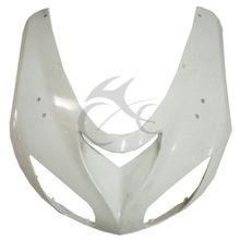 Upper Front Fairing Cowl Nose For KAWASAKI ZX10R ZX-10R 2006-2007 White New