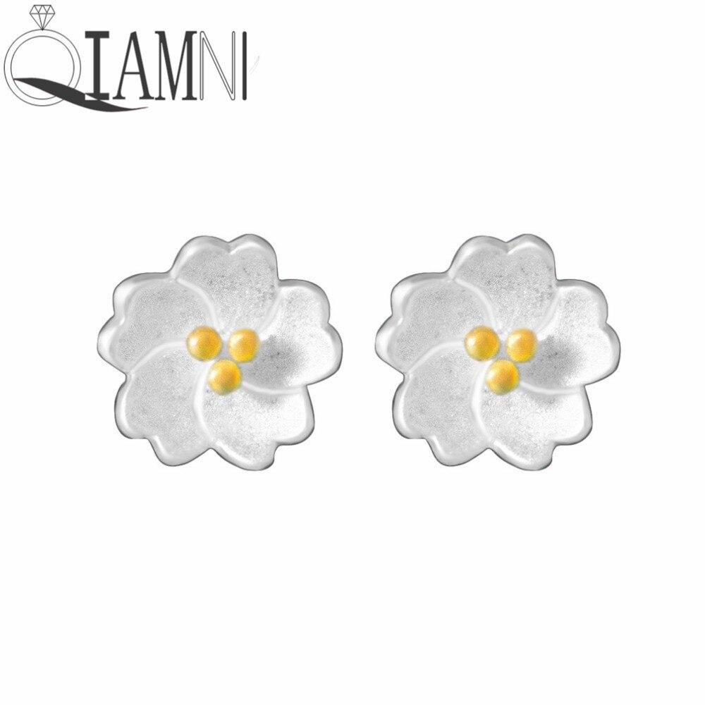QIAMNI-Women-s-925-Sterling-Silver-Sweet-Darling-Daisies-Flower-Piercing-Stud-Earring-Fit-Girl-Wedding_