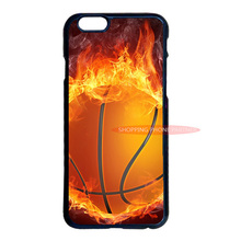 Basketball Fire Cover Case for iPhone 4S 5S 5C 6 6S 7 Plus iPod 5 LG G2 G3 G4 Samsung S3 S4 S5 Mini S6 S7 Edge Plus Note 2 3 4 5