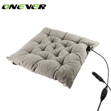 Onever Car Heated Seat Cushion Heating Pad Cover Hot Warmer Separated Control I/II Mode for Cold Weather and Winter Driving(China)