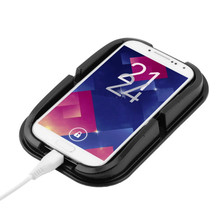 1PCS car styling Multi-function Mobile phone pad for Audi a4 a3 q5 q7 a5 b6 b8 a6 c5 b7 c6 audifonos bluetooth accessories