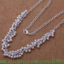 925 sterling silver Necklace, 925 silver fashion jewelry  Light grapes /eyeanpla bzgakqna AN745