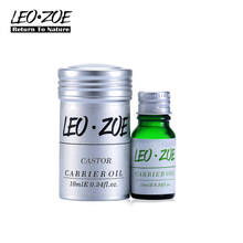 Pure Castor oil Famous Brand LEOZOE Certificate of origin US Authentication High quality Castor essential oil 10ML