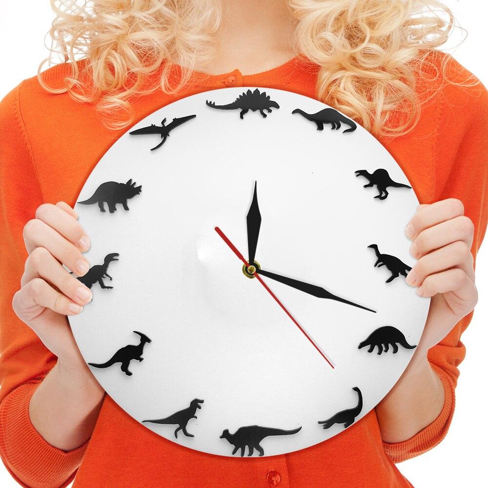 Dinosaur Quartz 12 Inch Wall Clock
