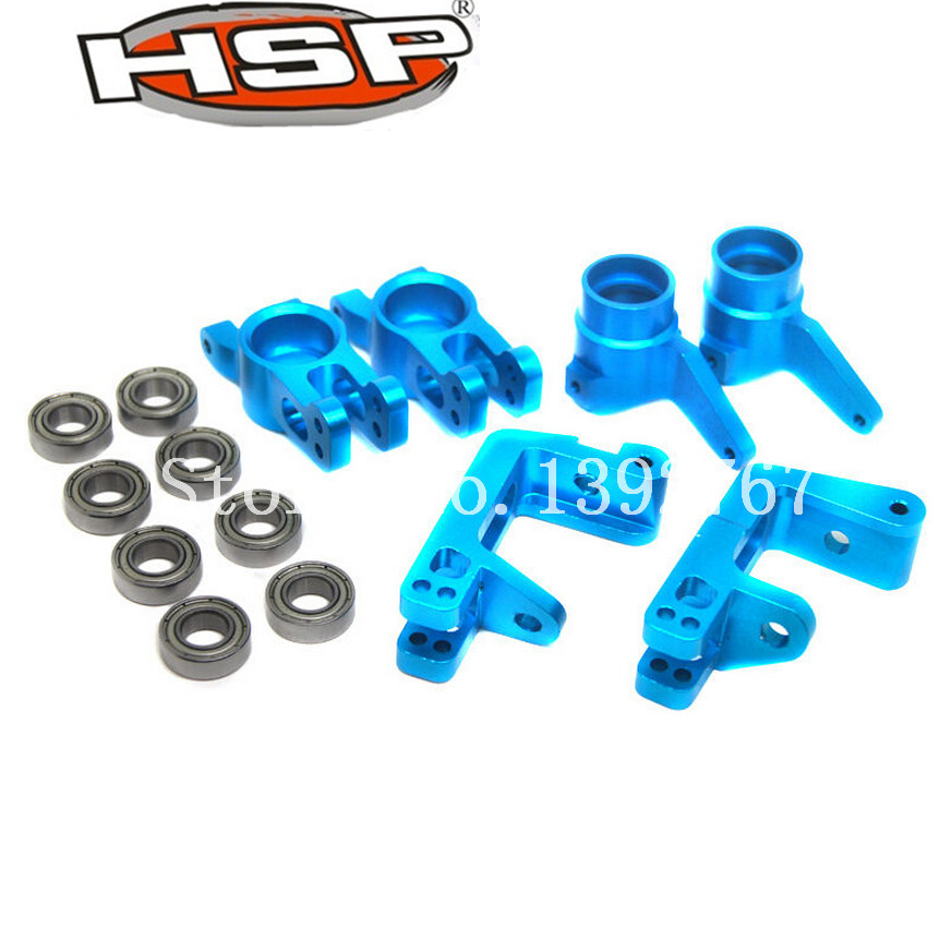 1Set HSP Steel Ball Bearing 16*8*5mm R/F Hub Carrier Steering Carrier Front Wheel Hub Carrier For 1/8 RC Car Remote Control Cars<br><br>Aliexpress