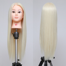 Mannequin Head Hair Training Hairdressing Doll Mannequins Plastic Heads Of The Dummy Hairstyles 26 Inch Training Mannequin Head