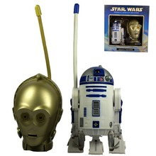 Jollibee MOVIE Attack of The Clones Walky Talkies C-3PO & R2-D2 Figure NIB Free Shipping(China)