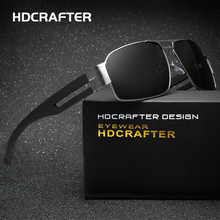 HDCRAFTER Brand Unisex Retro Aluminum Sunglasses Polarized Lens Vintage Eyewear Accessories Driving Sun Glasses For Men/Women(China)
