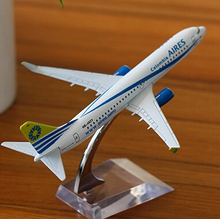Terebo Colombia Aires B737 passenger plane alloy model 16CM/6.3in