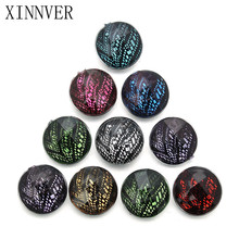 10pcs/lot 18mm mixing snap button jewelry colorful Resin snap button pression bijoux watches women charm bracelet(China)