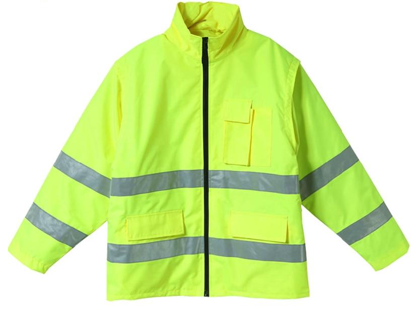 Reflective jacket safety gear night reflective coat fluorescent size S-M customize logo printing wholesales V120071<br><br>Aliexpress