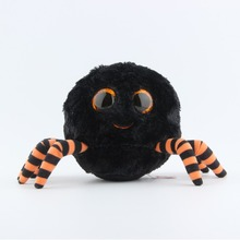 Ty Beanie Boos Plush Toy Doll Halloween Series Black Spider