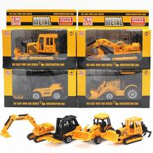 New Arrival 1:64 Diecast Cars Alloy Truck Engineering Vehicles Toy Metal Model Car Dinky Toys For Kids Random Sent Brinquedos