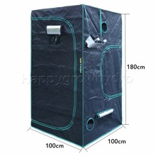 1680D Marshydro Indoor Hydroponics grow tent 100*100*180cm ,Grow kit,Completely LED Indoor Growing System(China)
