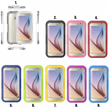Besegad Waterproof Drop Resistant Protective Mobile Phone Case Cover Skin Shell for Samsung Galaxy S6 / S6 Edge S 6(China)