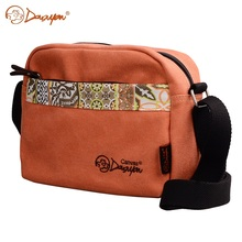 Douguyan Fashion Women Messenger Bags Orange Shoulder Bag New Canvas Cute Casual Laptop  Girl Handbag Bag G00155