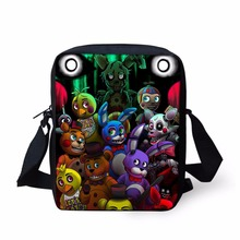 FORUDESIGNS Five Nights at Freddys School Bags Small Children Casual School Bags Fashion Mini Book Bags for Kids Boys Girls Bags(China)