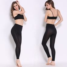 Spring Autumn Seasons Thin Design Super Soft Transparent Quick Drying Leggings Super Stretch Pants(China)