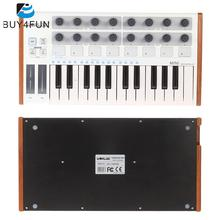 Worlde Ultra-Portable Mini Professional 25-Key USB MIDI Drum Pad and Keyboard Controller(China)