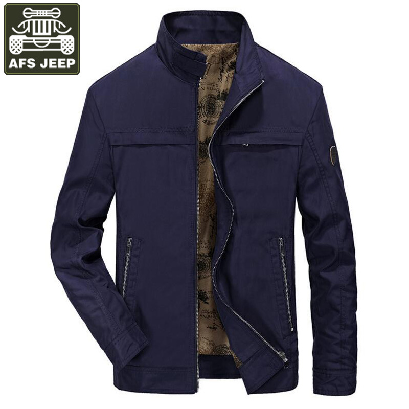 AFS JEEP Brand 2018 Jacket Men Coat For Men Army Military jaqueta masculina Casual Loose Plus Size M-4XL Men's Windbreaker Homme
