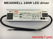 Authentic Taiwan meanwell power supply 200w240w led driver output 30V36V42V48V led floodlight streetlight highbay driver(China)