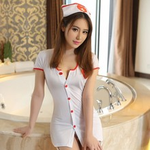 Buy Sexy Nurse Erotic Costumes Sexy Maid Lingerie Women Exotic Apparel Role Play Erotic Lingerie Hot Sexy Underwear Cosplay Uniform