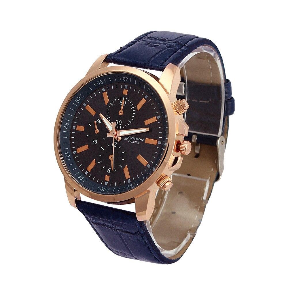 relogio masculino 2016 Lurxury Brand hot sale analog quartz PU leather beautiful Roman numeral watch women men wrist watches<br><br>Aliexpress