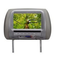 7 Inches MP5 Headrest Monitor Car Monitor TFT LED Digital Screen Player for Car Support SD Card,MP5, USB Card(China)