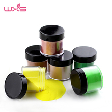 18 colors 28g/Box Colorful Dipping Powder Without Lamp Cure Nails Dip Powder Natural Dry DIY Powder Nail Salon(China)