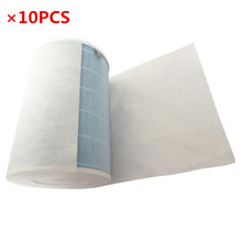 10PCS HEPA antibacterial anti-dust cotton for xiaomi air purifier 2 / 1 / Universal air conditioning filter cotton(China)
