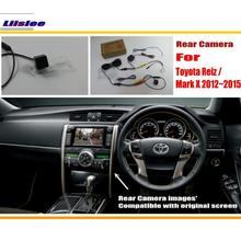 For Toyota Reiz / Mark X MarkX 2012~2015 / RCA & Original Screen Compatible Rear View Camera / Back Up Reverse Camera Sets