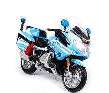 MAISTO 1:18 R1200RT R 1200 RT  POLICE MOTORCYCLE BIKE DIECAST MODEL TOY NEW IN BOX FREE SHIPPING