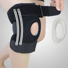 1pc High Quality Adjustable Hinged Meniscus Recovery Knee Support Protection Brace for Right Leg(China)